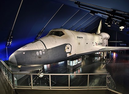 Vista ao museu Intrepid Sea, Air and Space - New York